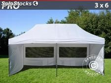 Carpa plegable 3x6 Pro Pack, Incl. 6 lados, blanco