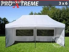 Carpa plegable 3x6 Pro Xtreme Pack, Incl. 6 lados, blanco