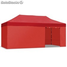 Carpa plegable 3x6 Resistente al agua. Color rojo