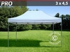 Carpa plegable FleXtents Pro 3x4,5 m, blanco