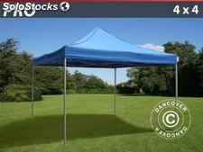 Carpa plegable FleXtents Pro 4x4 m, azul