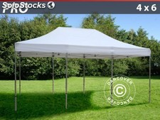 Carpa plegable FleXtents Pro 4x6 m, blanco