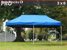 Carpa plegable FleXtents Pro 4x8 m, azul