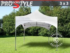 "Carpa plegable FleXtents PRO ""Arched"" 3x3m Blanco"
