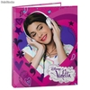 Carpeta 4 Anillas A4 Violetta Disney Music