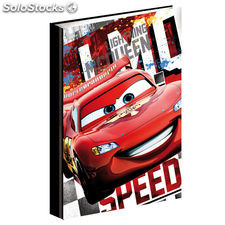 Carpeta A4 anillas Cars Disney Acceleration