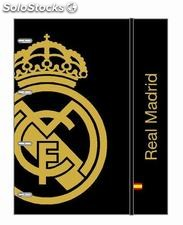 Carpeta A4 anillas real madrid