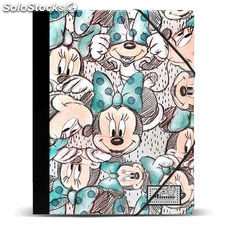 Carpeta A4 Minnie Disney Drawing gomas