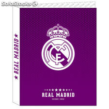Carpeta A4 Real Madrid Purple anillas