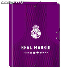 Carpeta A4 Real Madrid Purple solapas