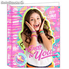 Carpeta A4 Soy Luna Disney Be Free anillas