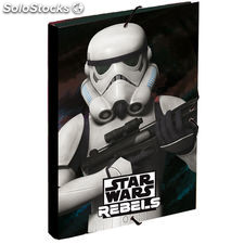 Carpeta A4 Star Wars Stormtrooper solapas