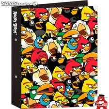 Carpeta anillas Crazy Angry Birds