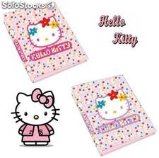Carpeta con anillas Hello Kitty