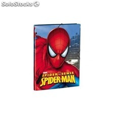 Carpeta De Goma Spiderman Marvel