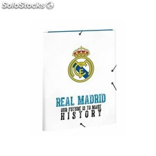 Carpeta folio 3 solapas real madrid 17/1