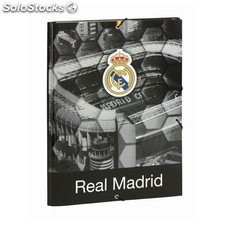 Carpeta folio 3 solapas real madrid