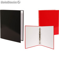 Carpeta folio 4 anillas lisa - colores surtidos - masterclass - 8429102001807 -