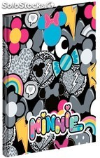 Carpeta Minnie Patch Tres Solapas