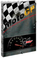 Carpeta Moto GP Warm Tres Solapas