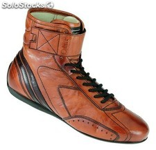 Carrera high botines leather talla 40