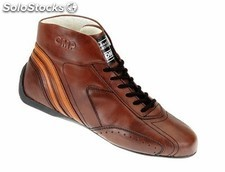 Carrera low botines marron talla 44