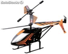 Carrera RC Neon Sply Helicopter naranja 370501026