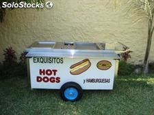 Carreta para vender hot dogs
