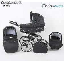 Carro bebe romantic ecopiel