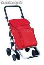 Carro compra GO plus 4R rojo play 50 l+4 l