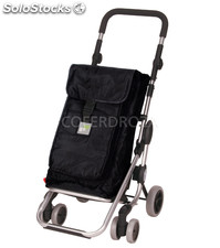 Carro compra GO up 4R negro play 39,5 l+6 l