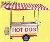 Carro de hot dogs
