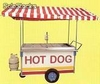 Carro de hot dogs - Foto 1