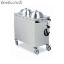 Carro dispensador platos calientes 990x540x900 (130 platos)
