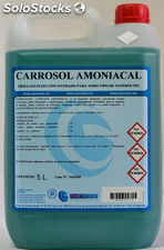 Carrosol Amoniacal. Limpiador amoniacal concentrado