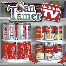 Carrusel de Latas Can Holder Tamer, Anunciado en TV