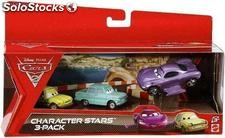 Cars 2 character stars 3-pack