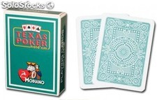 Cartas de Modiano Texas Poker Jumbo verde
