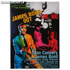 Cartel de Cine James Bond 007 Dr. No