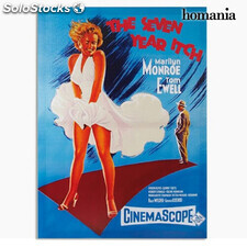 Cartel de Cine Marilyn Monroe The Seven Year Itch