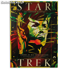 Cartel de Cine Star Trek