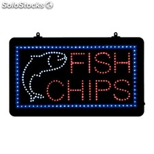 Cartel led fish y chips