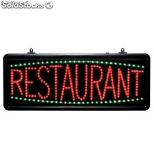 Cartel led restaurante CD973