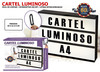 carteles luminosos