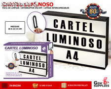 Cartel Luminoso Mensajes Personalizados We Houseware