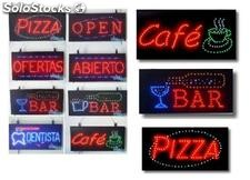 Carteles Luminosos led (pre-fabricados en Serie)