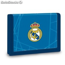Cartera Billetero Real Madrid azul