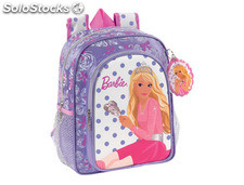 Cartera escolar safta barbie mochila infantil 260x340x110mm