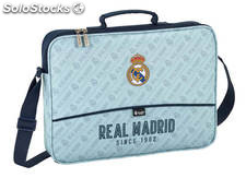 Cartera Extraescolar Real Madrid Blanco