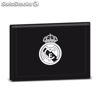Cartera Real Madrid Black